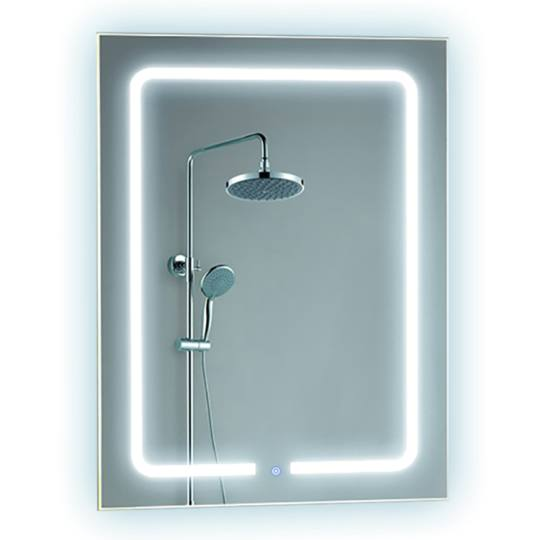 Bathroom backlit mirror fbs 02 led bathroom mirror for Mirror manufacturers