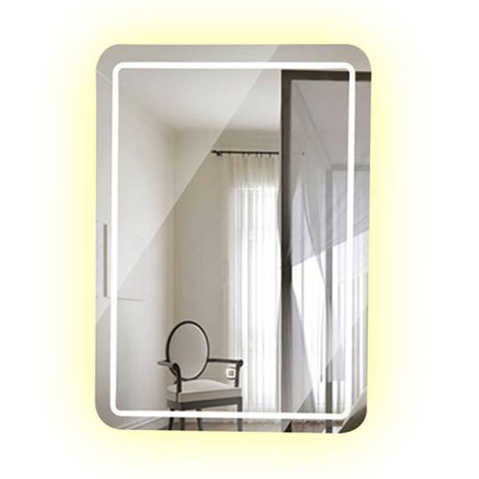 Bathroom backlit mirror fbs 04a led bathroom mirror for Mirror manufacturers