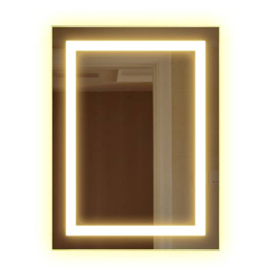 Bathroom backlit mirror fbs 09 led bathroom mirror for Mirror manufacturers