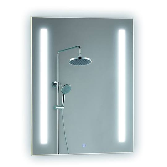 Bathroom backlit mirror fbs 12 led bathroom mirror for Mirror manufacturers