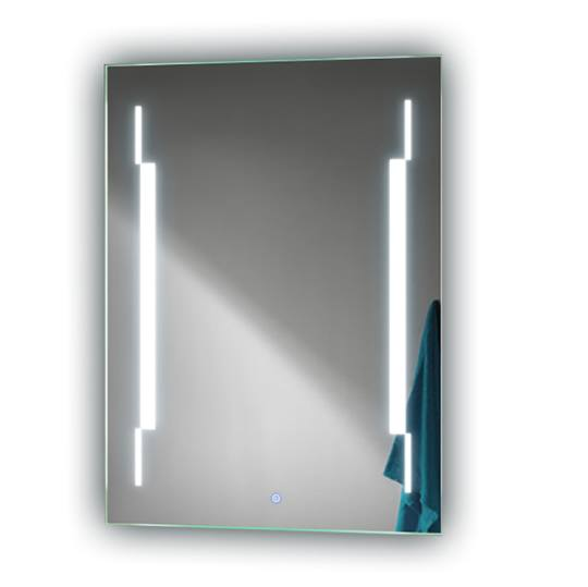 Bathroom backlit mirror fbs 13 led bathroom mirror for Mirror manufacturers