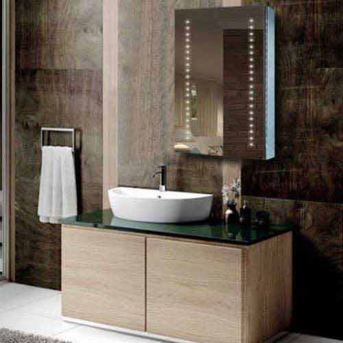 Mirrored Medicine Cabinet Suppliers Fp05 Led Bathroom