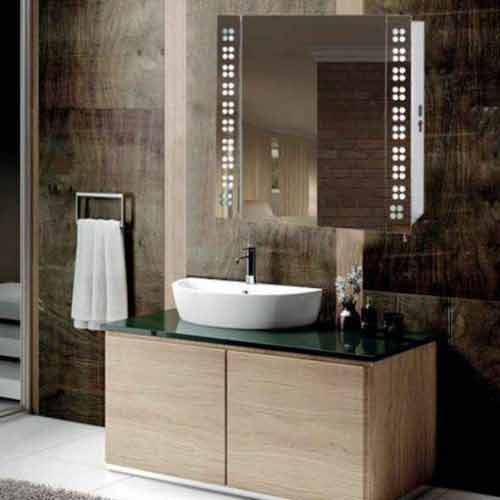 Illuminated Mirror Cabinet Bathroom aluminum storage medicine cabinets  with lights manufacturers suppliers china 4. Bathroom mirror cabinet suppliers FP07   LED Bathroom Mirror