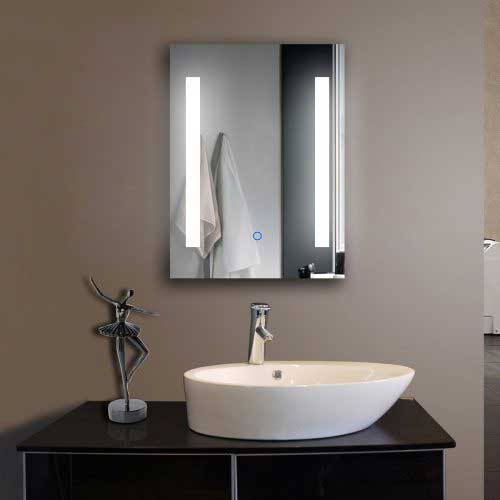Hotel project led mirror suppliers fp02 led bathroom for Mirror hotel