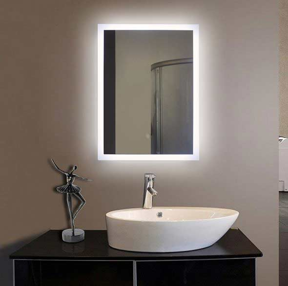Illuminated bath mirrors suppliers fp04 led bathroom for Mirror manufacturers