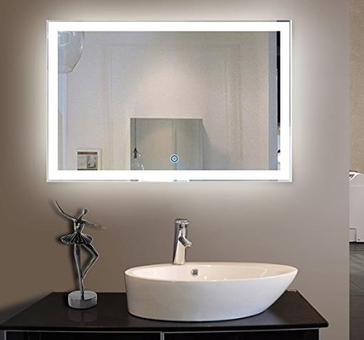Why you need a back lit mirror led bathroom mirror for Need a mirror