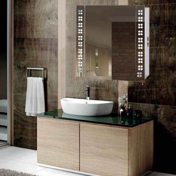 Led mirror cabinet bathroom illuminated mirror suppliers Bathroom cabinet manufacturers