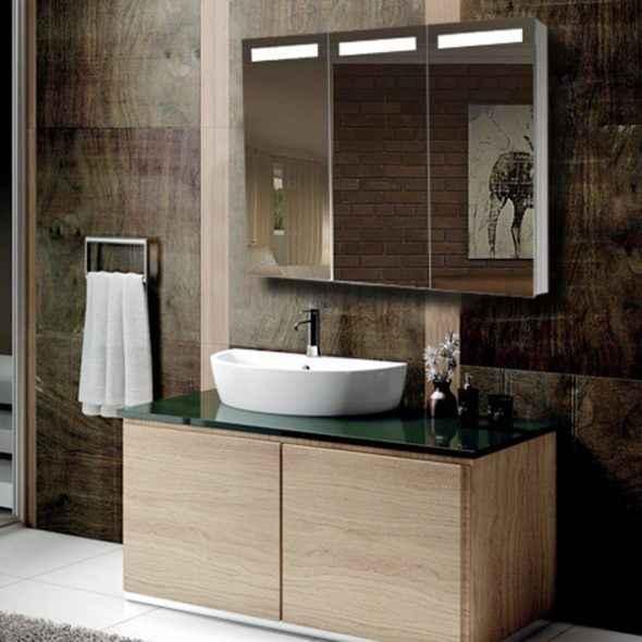 led mirror cabinet bathroom illuminated mirror suppliers manufacturers
