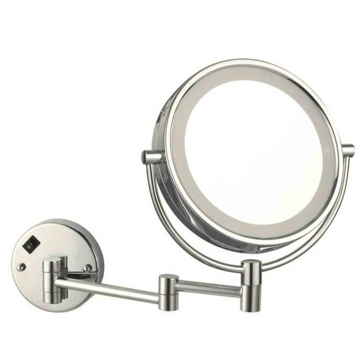 Bathroom Magnifying Makeup Mirror With Led Light Lms 01 Led Bathroom Mirror Manufacturers