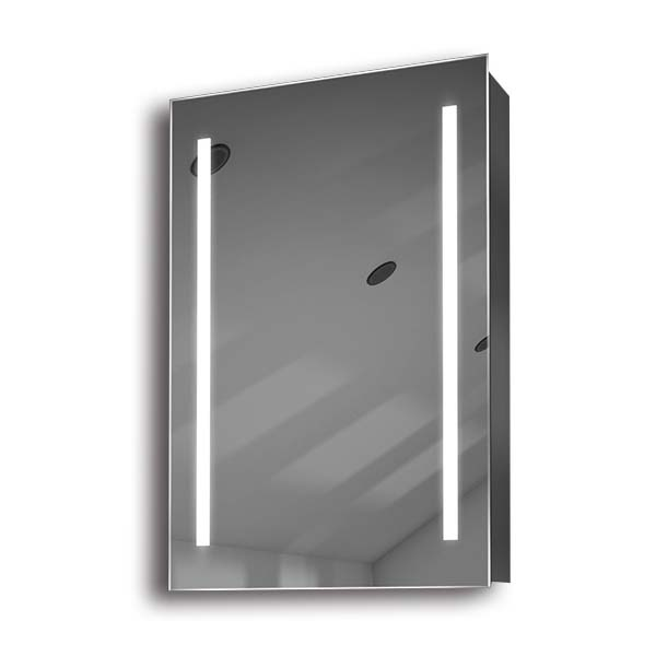 Illuminated mirror cabinet fac 04 60x40x14 50x70x14 led for Mirror 50 x 70