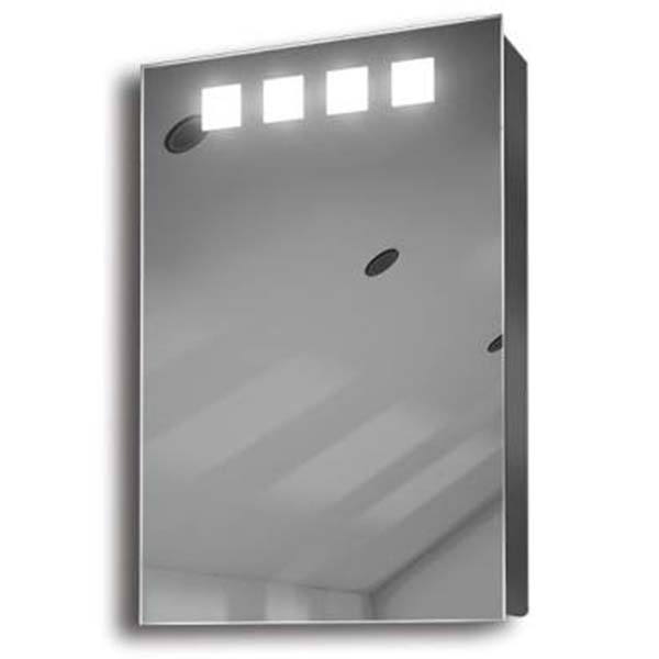 Illuminated mirror cabinet fac 07 60x40x14 50x70x14 led for Miroir 70 x 70