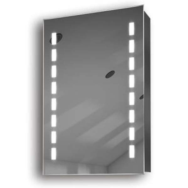 Illuminated mirror cabinet fac 10 60x40x14 50x70x14 led for Miroir 70 x 70