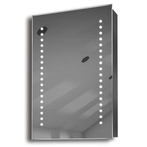 Illuminated mirror cabinet fac 11 60x40x14 50x70x14 led for Mirror 50 x 70