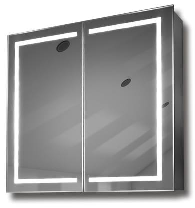 illuminated mirror cabinet fac 18 60x65x14 70x80x14 led