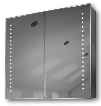 Illuminated mirror cabinet fac 23 60x65x14 70x80x14 led for Miroir 60 x 70