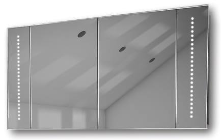 Illuminated mirror cabinet fac 26 60x90x14 60x120x14 led for Mirror 120 x 60