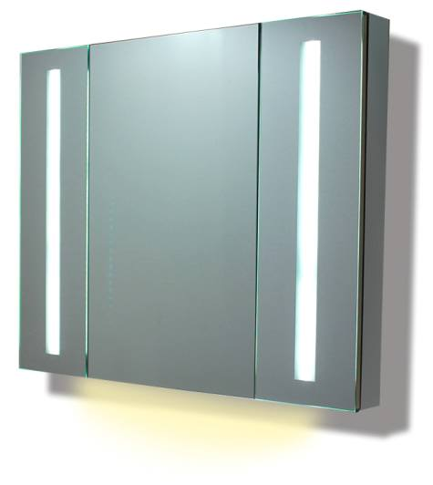Illuminated mirror cabinet fac 29 led bathroom mirror for Mirror manufacturers