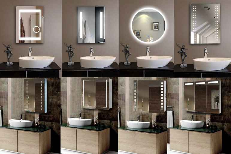 Reliable Led Illuminated Smart Bathroom Mirror Manufacturers Suppliers China Led Bathroom