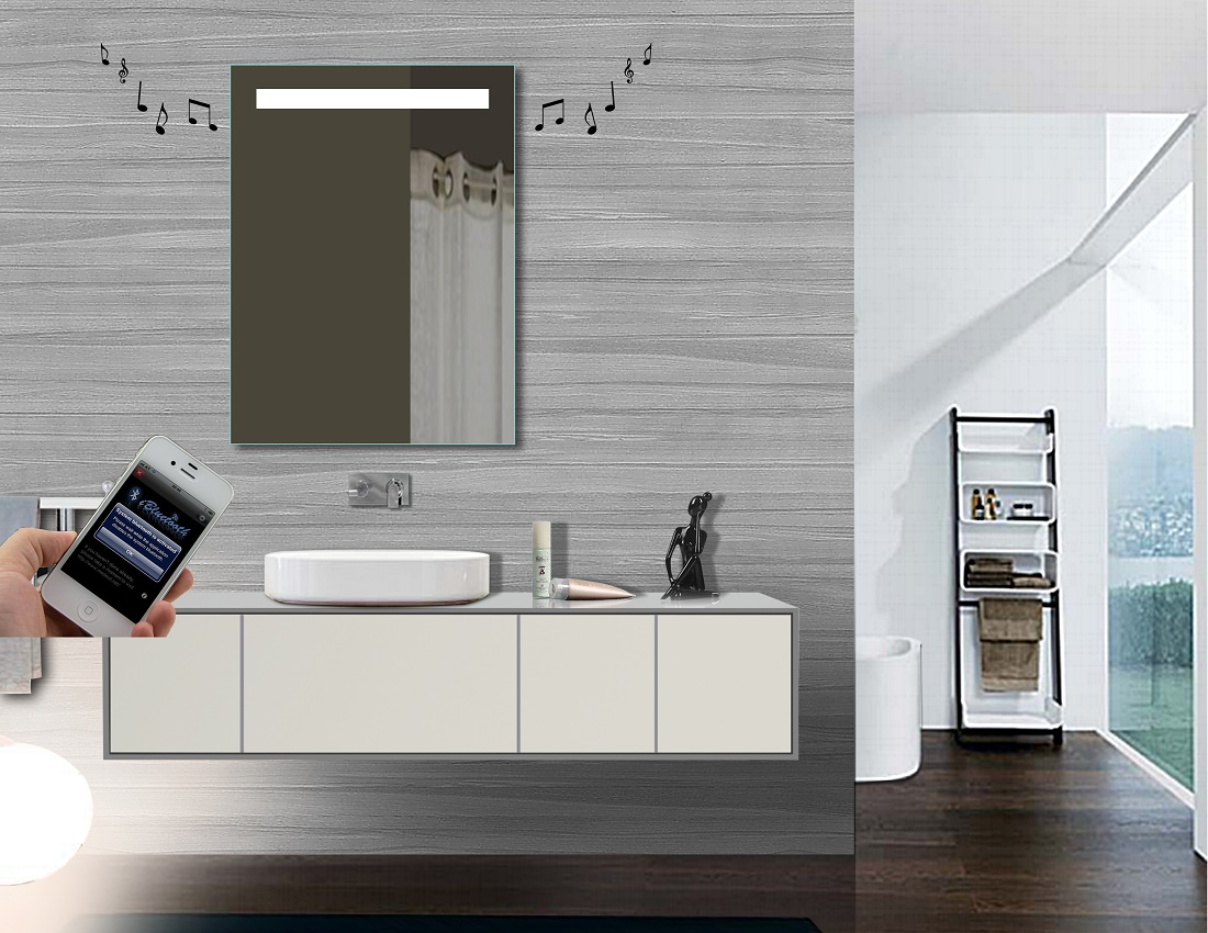 Smart mirror supplier led bathroom mirror manufacturers for Mirror manufacturers