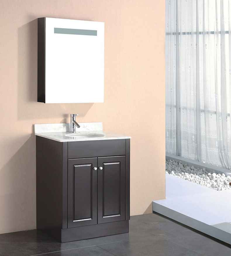 Manufacturers suppliers china pvc mirror cabinet fsc 01 Bathroom cabinet manufacturers